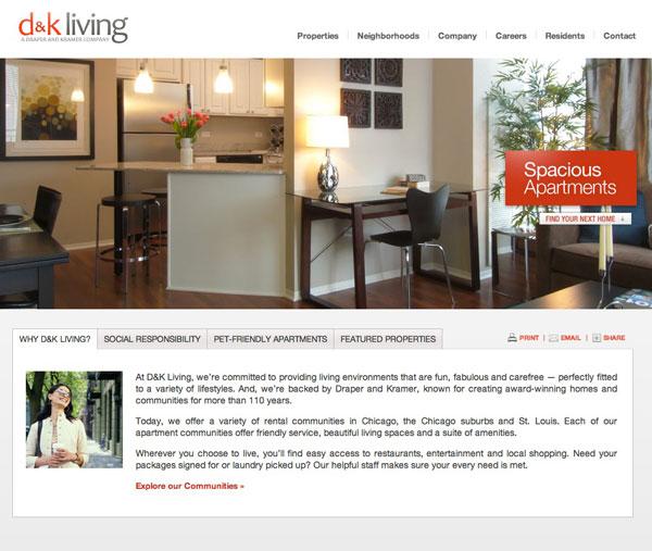 Draper And Kramer Website Design