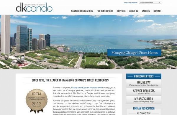DK Condo Website Design