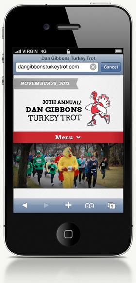 Dan Gibbons Turkey Trot website