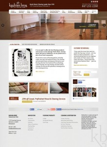 Kashian Bros website design