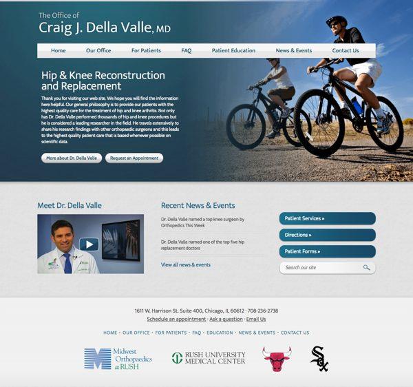 Dr Della Valle website