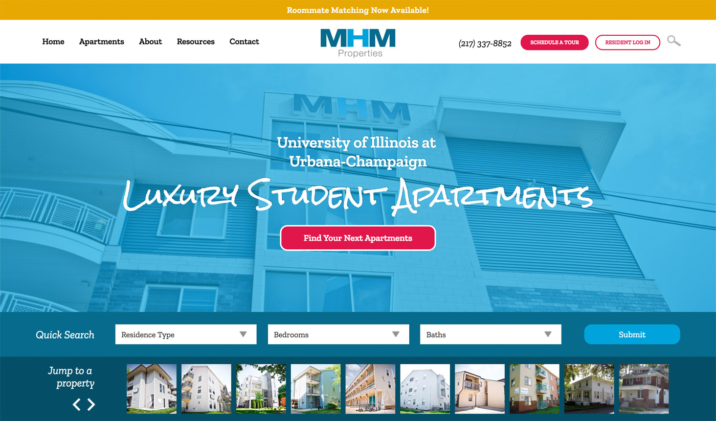 MHM Properties Web Site