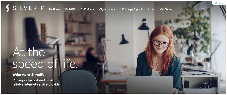 SilverIP Web Site Design