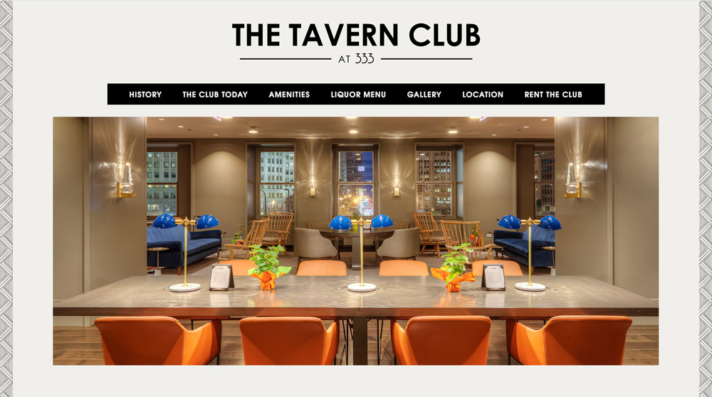 Tavern Club at 333 Web Site