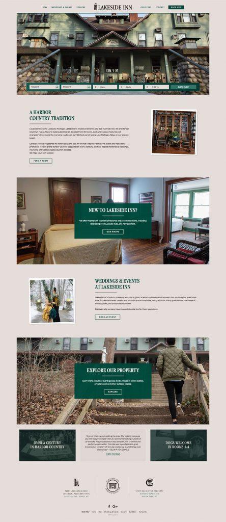 Lakeside Inn Web Site