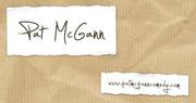 Pat McGann Business Card Design